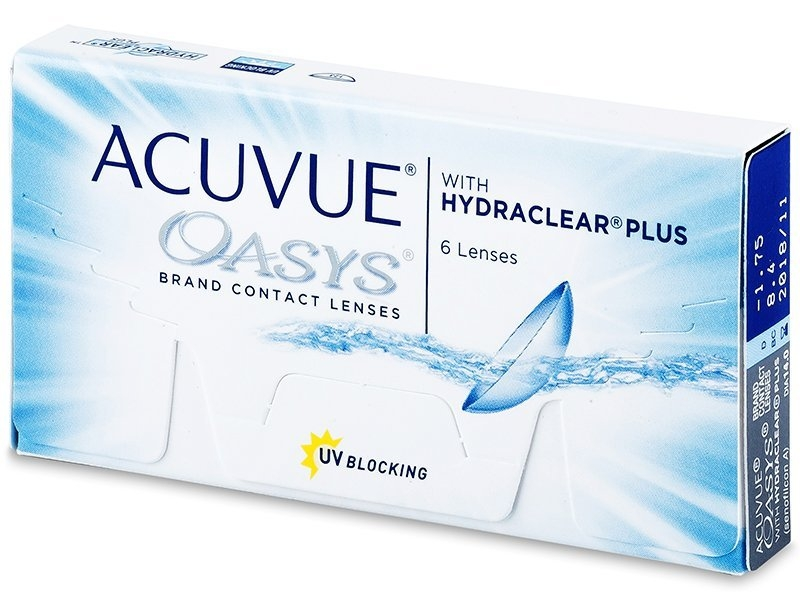 Acuvue Oasys Hydraclear plus (6 lentile)