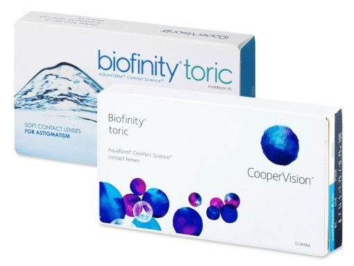 Biofinity Toric (6 lentile)