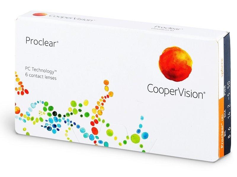Proclear Sphere (6 lentile)