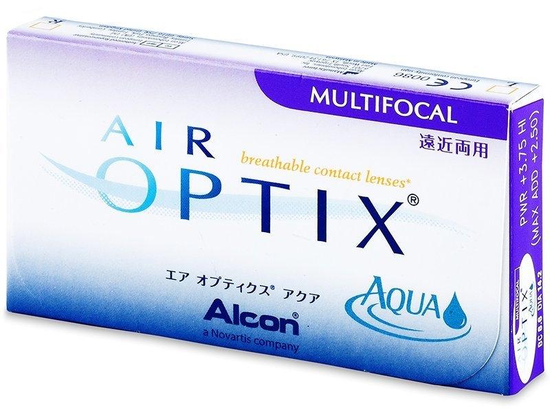 Air Optix Aqua Multifocal (3 lentile)
