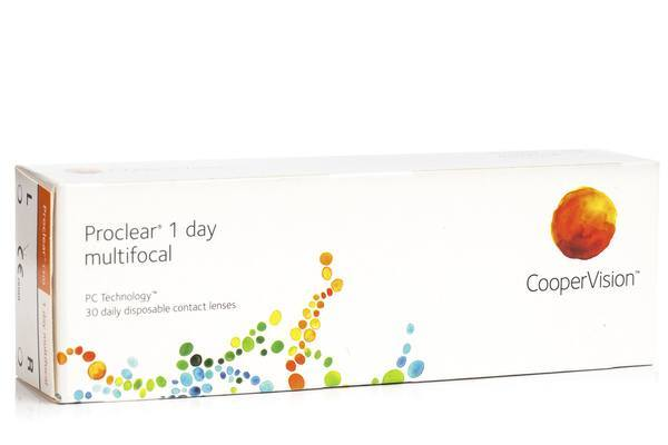 Proclear 1 Day Multifocal CooperVision (30 lentile)