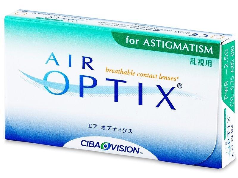 Air Optix for Astigmatism (6 lentile)