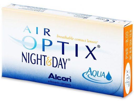 Air Optix Night and Day Aqua (6 lentile)