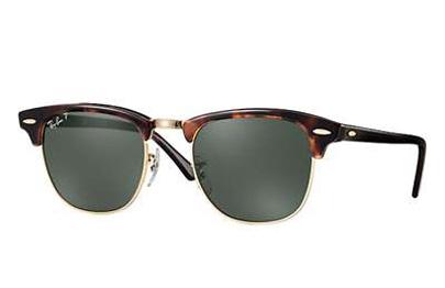 Ochelari de soare unisex Clubmaster Ray-Ban RB3016 990/58