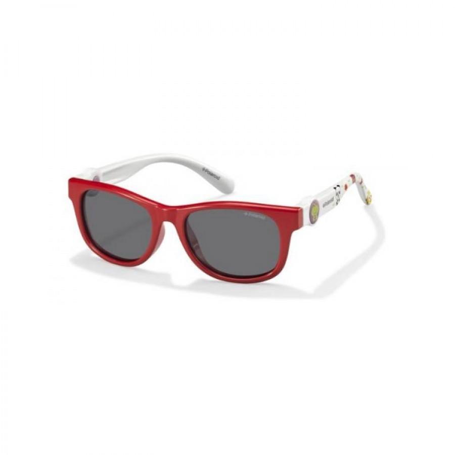 Ochelari de soare copii POLAROID PLD 8011/S MC4 Coral White