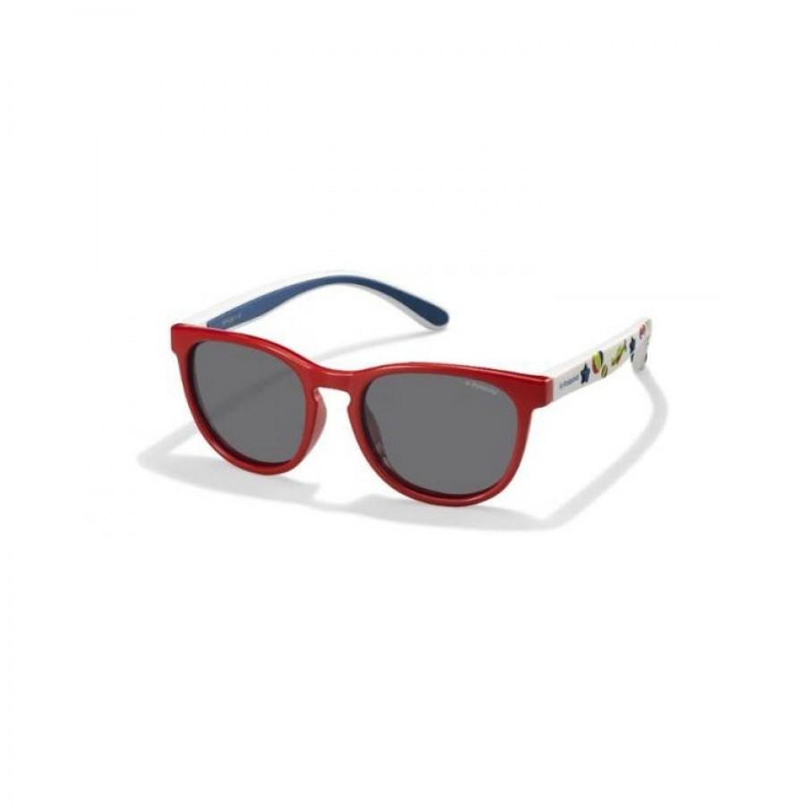 Ochelari de soare copii POLAROID PLD 8013/S MC4 Coral White