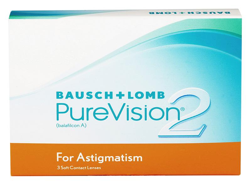 PureVision 2 HD (3buc) pentru Astigmatism