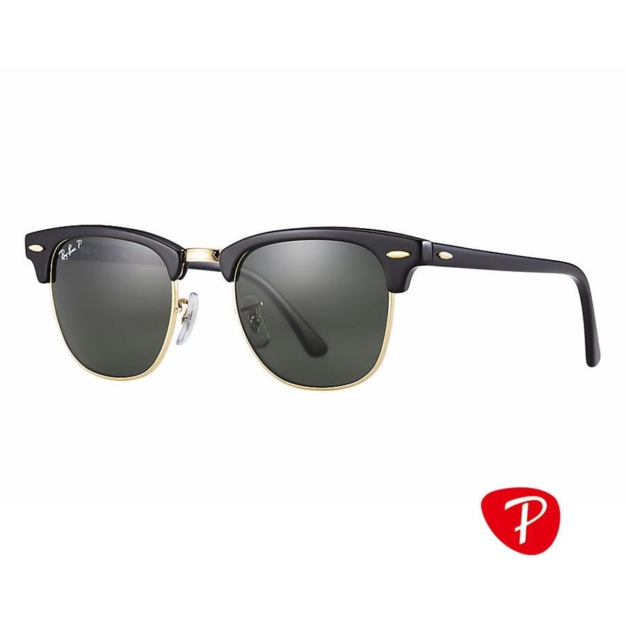 Ochelari de soare unisex Clubmaster Ray-Ban RB3016 901/58
