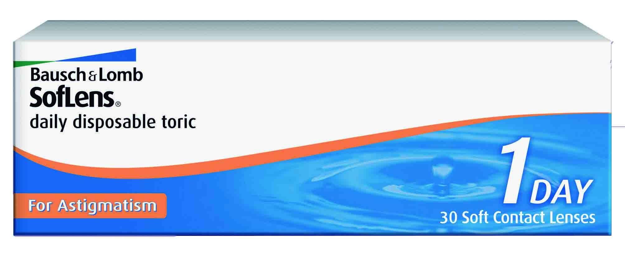 SofLens dailz disposable Toric pentru Astigmatism (30buc)